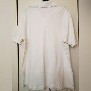 Burberry Shirts - Burberry London Men's White Polo size L